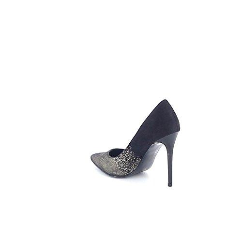Misstic - Botas de Lona Mujer Noir-bronze