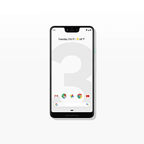 Google - Pixel 3 XL with 64GB Memory Cell Phone (Unlocked) - Clearly White thumbnail