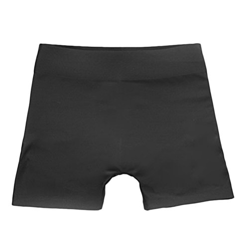 Zhhlaixing Traceless Seamless Low Waist Postpartum Slimming Body Shaping Calzoncillos Hip Panties Black
