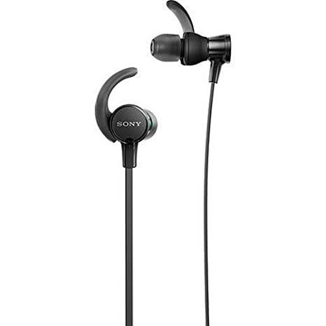 286f5de23dc Amazon.com: Sony MDRXB510AS/B Extra Bass Wired Headphones, Best Sports  Headphones W/Mic IPX5 Stereo Sweatproof Earbuds Durable Comfortable Gym  Running ...