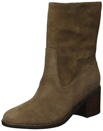 Gentle Souls by Kenneth Cole Women's Verona Mid-Calf Boot with Heel Boot, cocoa, 9 M US (Gentle Souls Best Of Moto Boot)