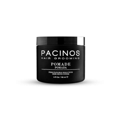 Pacinos Pomade Hair Grooming Paste - Firm Hold (Best Hair Pomade Uk)