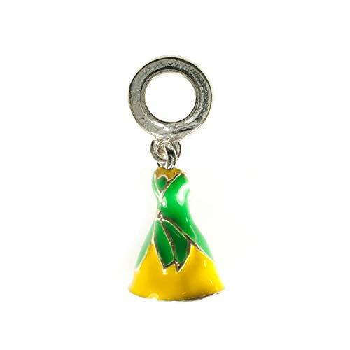 Charm abalorio princesa Tiana Plata de Ley compatible con Pandora: Amazon.es: Handmade