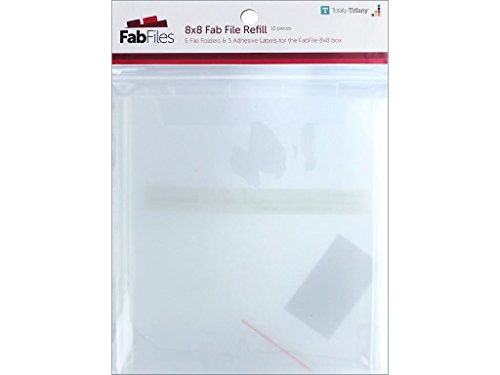 Totally-Tiffany TTY00652 Fab File Refill Pocket, 8' by 8'
