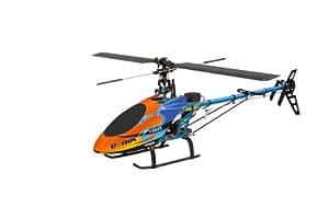 Jamara 31546 E-Rix 450 RTF Gas rechts - Helicóptero teledirigido (incluye radiocontrol FCX 6 de 2,4GHz)