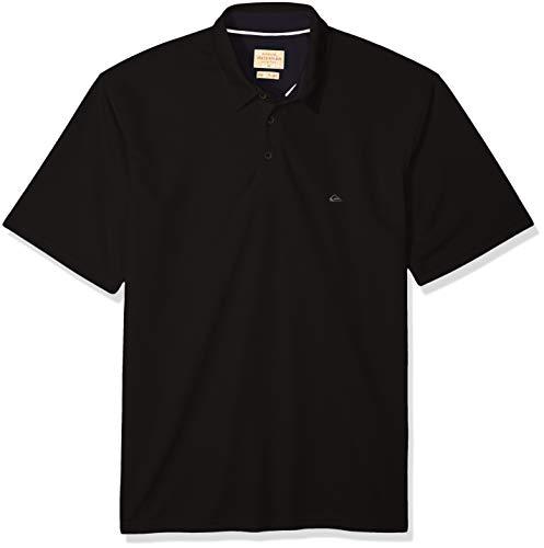 Quiksilver Waterman Men's Water 2 Polo Shirt, Black XL