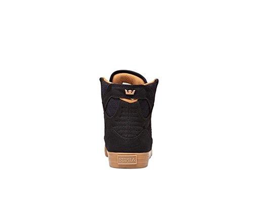 lt Gum Supra S18091 Black uomo Skytop Sneaker HXqRYqS8