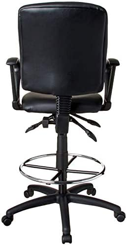 office products, office furniture, lighting, chairs, sofas,  drafting chairs 6 image Boss Office Products Multi-Function LeatherPlus Drafting Stool promotion