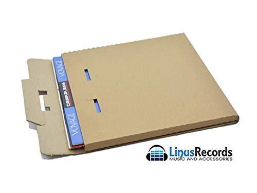 (C) LINUS RECORDS 30 SCATOLE IN CARTONE RIGIDO PER SPEDIRE 1-3 DISCHI LP 33 giri (12 POLLICI)