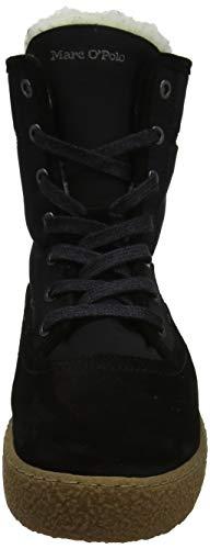 O'polo black Bootie Neige De Bottes 990 Marc Noir Femme 7qwdP7SA