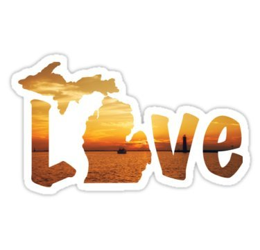 Michigan Bumper Sticker - 8