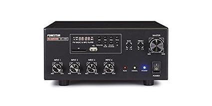 FONESTAR MA-45RU AMPLIFICADOR CON USB/SD/MP3/FM