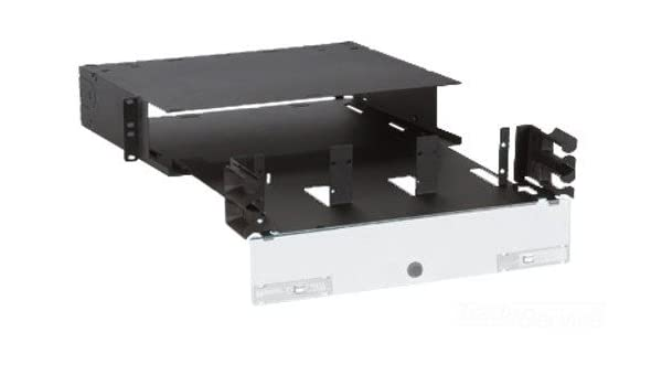Amazon.com: Panduit FRME2U Fiber Rack Mount Enclosure with 72-Fiber Capacity: Industrial & Scientific