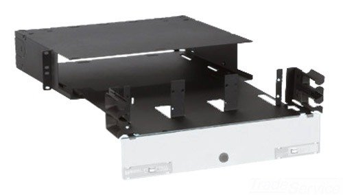 Panduit FRME2U Fiber Rack Mount Enclosure with 72-Fiber Capacity