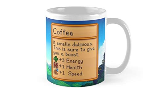 Stardew valley coffee mug Standard Mug Mug Coffee Mug Tea Mug - 11 oz Premium Quality printed coffee mug - Unique Gifting ideas for Friend/coworker/loved ones(One Size)