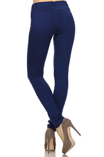 WHITE APPAREL Women's High Quality Colorful Solid Jeggings (S,M,L)