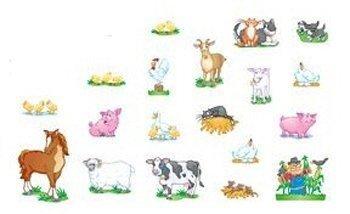Bb Accents Farm Animals