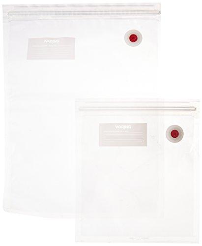 Waring Pro PVS1000CCP Vacuum Sealer Bag Combo ()