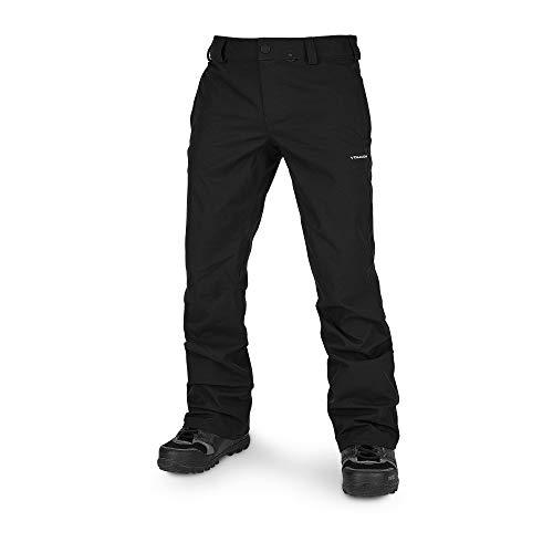 Volcom Men's Klocker Slim Form Fit Snow Pant, Black, Large
