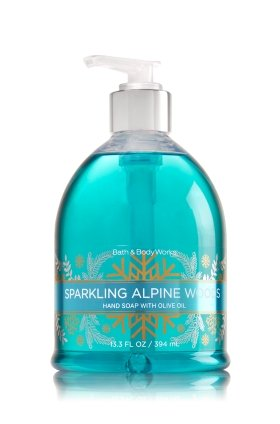SPARKLING ALPINE WOODS Decorative Hand Soap with Olive Oil