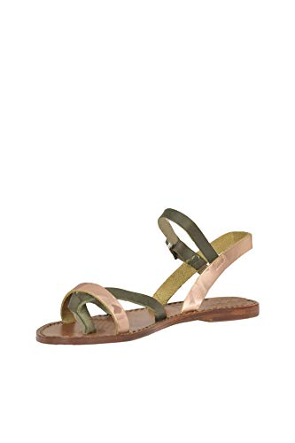 Cuir Sandales Femme Mcglcab000005043e Antidoti Vert vf7w16