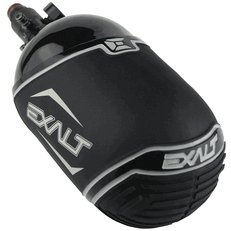 Valken V308064 Bottle Cover Exalt - Sizes 45Ci And 50Ci - Black And Grey by Valken