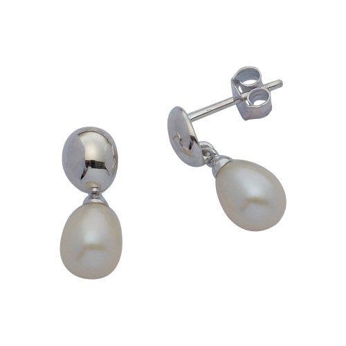 Boucles d'Oreilles Pendantes Femme - 11791 - Argent Sterling 2.5 Gr