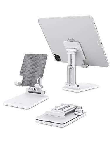 soporte de aluminio para celular tablets hasta 11 pulgadas