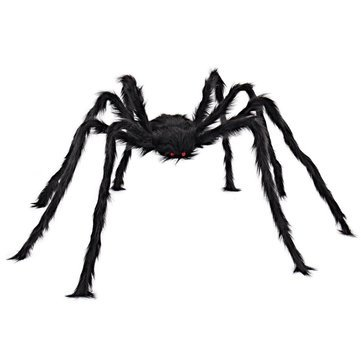 Behemoth - 5ft 150cm Hairy Giant Spider Decoration Huge Halloween Outdoor Decor Toy Party - Titan Goliath Jumbo Gargantuan Heavyweight Monster Star Colossu - 1PCs]()