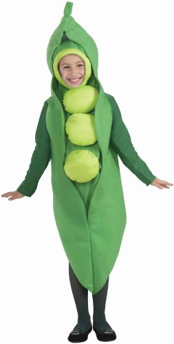 [Forum Novelties Inc - Peas Child Costume - Small (4-6)] (Pea Costumes)