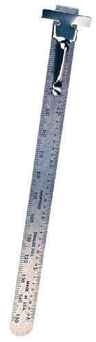 Empire 6-Inch Pocket Stainless Steel Ruler, Home Improvement Tool