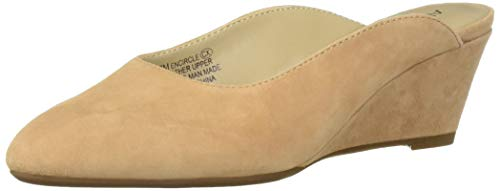 (Aerosoles Women's ENCIRCLE Clog Light Tan Suede 9 M US)