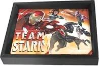 Boy's Easter Super Hero Captain America Civil War Team Stark, Super Hero 3D Shadow Boxes.