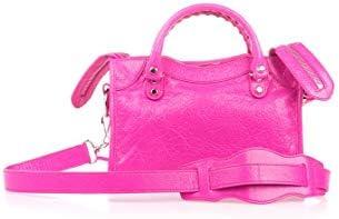 Balenciaga Luxury Fashion Femme 300295D94JN5561 Fuchsia Cuir Sac À Main | Printemps-été 20