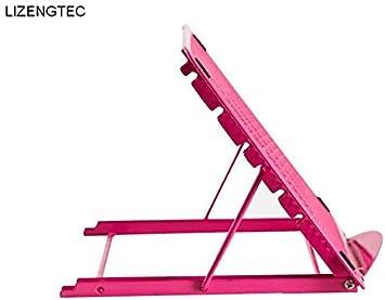 JHLQUN Laptop Stand, Multi-ángulo Vertical portátil con Heat-Vent, ángulos de inclinación Ajustable, Compatible con el Ordenador portátil, for Todos los portátiles de 17 Pulgadas MAX (Color : A): Amazon.es: Electrónica