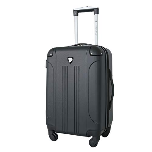 "Travelers Club 20"" Chicago Spinner Expandable Carry-On Luggage"