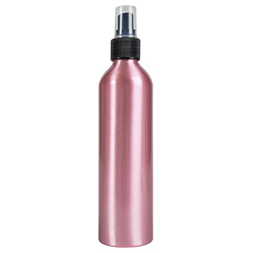 SHANY Stylist's Choice Aluminum Empty Bottle with Spray Attachment, Pink, 0.1 Pound