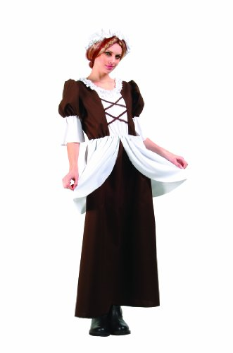 RG Costumes Women's Colonial Lady, Brown, One Size]()