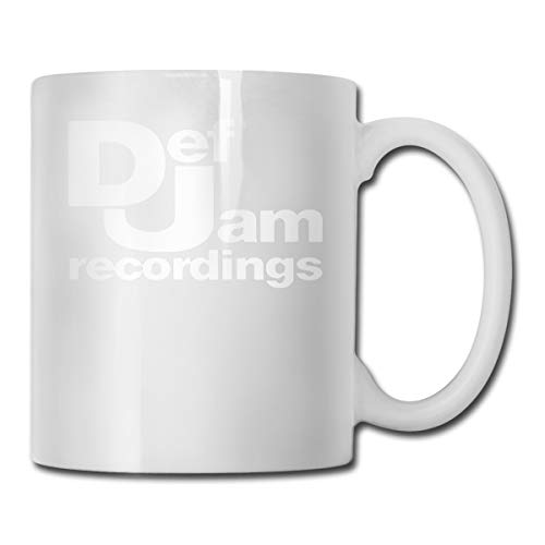 Def Jam Recordings - Hip Hop Classic Music Record Label Run DMC New York CUPS 11OZ Printed Design Funny Coffee Mug Tee Cup