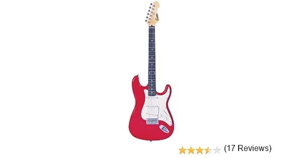 Encore EBP-KC3R rojo de la guitarra eléctrica de Trajes: Amazon.es: Electrónica