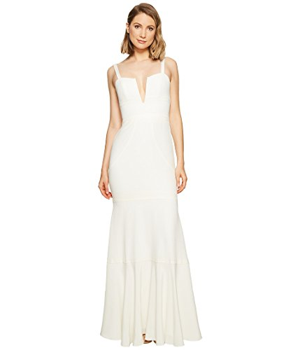 Nicole Miller Women's Elalia Bridal Gown Ivory Dress