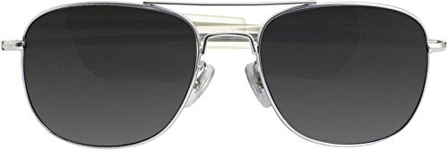 Gray Pilot Sunglasses - 2