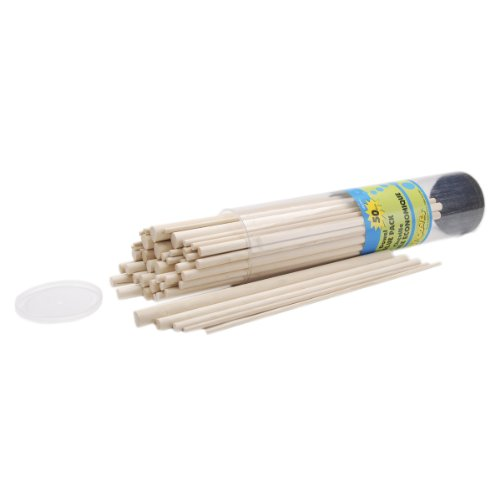 Loew-Cornell Simply Art Wood Assorted Size Dowel Value Pack 50 ct. ()