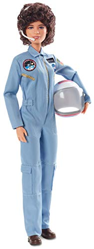 Barbie Inspiring Women Series Sally Ride Collectible Barbie Doll Wearing Fashion and Accessories, with Doll Stand and Certificate of Authenticity