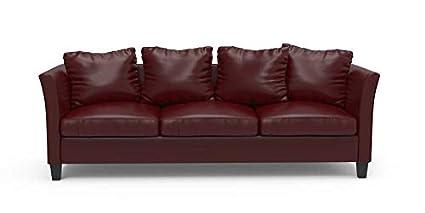 Munafa Village Express Dark Red Sofa Set: Amazon.in: Home ...