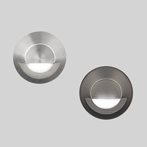 WAC Lighting 2041-30SS WAC Indicator 3 inch Led 12V Circle Step & Wall Light In Stainless SteelStainless Steel
