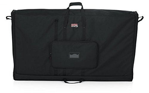 Gator Cases Padded Nylon Carry Tote Bag for Transporting LCD Screens, Monitors and TVs; Fits 60'' Screens (G-LCD-TOTE60)