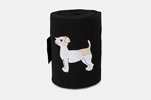 Lettia Embroidered Polo Bandages Jack Russel