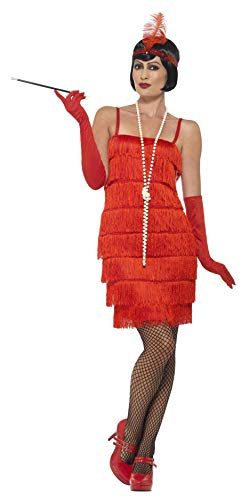 Red Flapper Short Dress Adult / Plus Costume ()