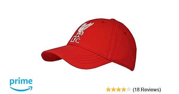 09bd2271941 Amazon.com   Liverpool FC - Authentic EPL Baseball Cap Red   Sports Fan  Baseball Caps   Clothing